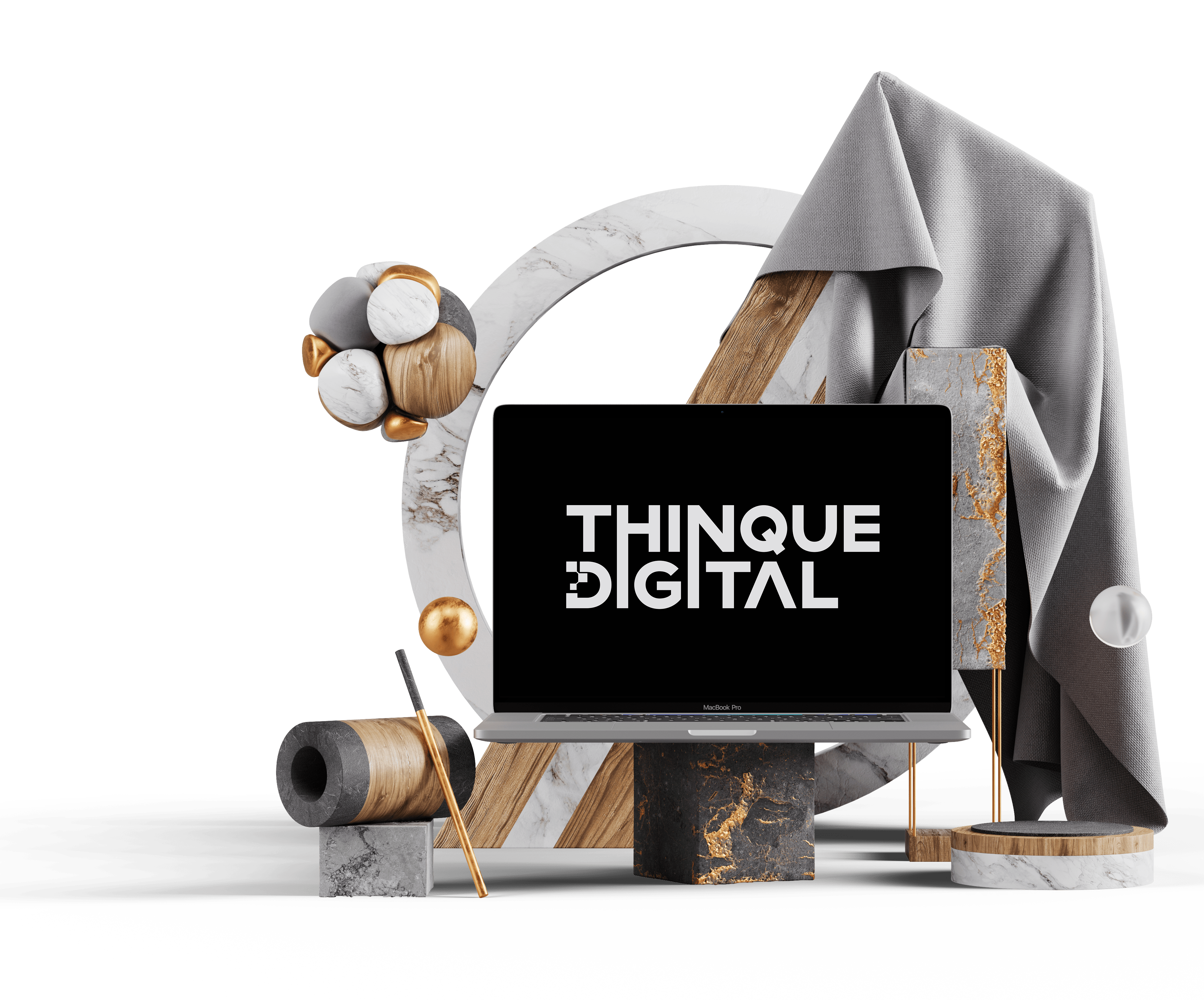Thinque digital media agency for websites, e-commerce, graphic design and marketing